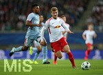13.09.2017, Fussball UEFA Champions League 2017/2018,  Gruppenphase, 1.Spieltag, RB Leipzig - AS Monaco, in der Red Bull Arena Leipzig. v.l. Jemerson (AS Monaco) , Timo Werner (RB Leipzig)
