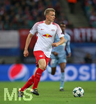 13.09.2017, Fussball UEFA Champions League 2017/2018,  Gruppenphase, 1.Spieltag, RB Leipzig - AS Monaco, in der Red Bull Arena Leipzig. Lukas Klostermann (RB Leipzig)