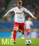 13.09.2017, Fussball UEFA Champions League 2017/2018,  Gruppenphase, 1.Spieltag, RB Leipzig - AS Monaco, in der Red Bull Arena Leipzig. Timo Werner (RB Leipzig)