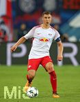13.09.2017, Fussball UEFA Champions League 2017/2018,  Gruppenphase, 1.Spieltag, RB Leipzig - AS Monaco, in der Red Bull Arena Leipzig. Willi Orban (RB Leipzig)