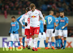22.02.2018, Fussball UEFA Europa League 2017/2018,  Zwischenrunde, RB Leipzig - SSC Neapel, in der Red Bull Arena Leipzig. Timo Werner (RB Leipzig)