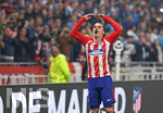16.05.2018,  Fussball UEFA Europa-League Finale 2018, Olympique Marseille - Atletico Madrid, im Parc Olympique Lyonnais. Atletico gewinnt die Europa League , Antoine Griezmann (Atletico Madrid)