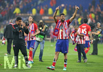 16.05.2018,  Fussball UEFA Europa-League Finale 2018, Olympique Marseille - Atletico Madrid, im Parc Olympique Lyonnais. Atletico Madrid gewinnt die Europa League, Diego Costa (Atletico Madrid)