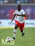 26.07.2018, Fussball UEFA Europa League 2018/2019,  2. Qualifikationsrunde, RB Leipzig - BK Häcken, in der Red Bull Arena Leipzig. Jean-Kevin Augustin (RB Leipzig)