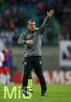 25.10.2018, Fussball UEFA Europa League 2018/2019, Gruppenphase, 3.Spieltag, RB Leipzig - Celtic Glasgow, in der Red Bull Arena Leipzig. Trainer Brendan Rodgers (Celtic Glasgow)