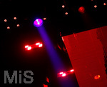 02.04.2019, Musikmesse und Prolight and Sound an der Messe Frankfurt. Scheinwerfer und Moving Heads.